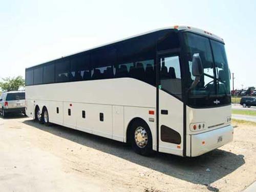 Jacksonville 56 Passenger Charter Bus